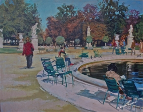 <h5>Into the Tuilleries</h5><p>Oil																																																																																																																																																																																																																																																																																																	</p>
