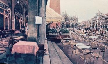 <h5>By Florians Venice</h5><p>O:L 60 x 69 1982</p>
