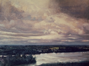 <h5>Looking at the Loire</h5><p>O:L 30 x 40 1971																																																																																																																																																																																																												</p>