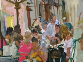 <h5>Lunch in Rome (detail)</h5><p>O:L 																																																																																																																																																																																																												</p>