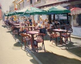 <h5>Café le Doris Brittany</h5><p>O:L 40 x 40 2008</p>