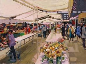 <h5>New Market Quimper</h5><p>O:L 21 x 25 2012</p>