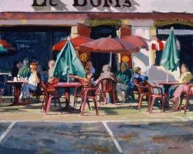 <h5>Brittany Café</h5><p>O:L 18 x 20 1999</p>