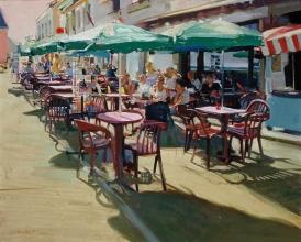 <h5>Café near La Torche</h5><p>O:L 20 x 24 1990</p>
