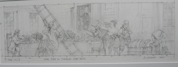 <h5>Dolley Madison Mural</h5><p>Conceptual Sketch																																		</p>