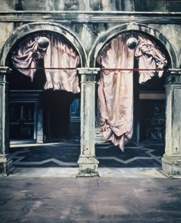 <h5>Venetian Arcade</h5><p>O:L 69 x 60 1983</p>