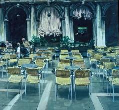 <h5>Venetian Café</h5><p>O:L 44 x 48 1982</p>