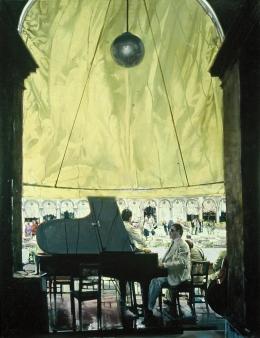 <h5>Venetian Music</h5><p>O:L 69 x 53 1982</p>