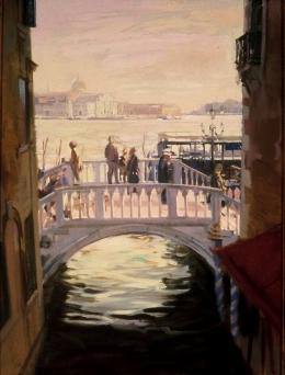 <h5>Venetian Bridge</h5><p>O:L 34 x 24 1986</p>