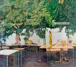 <h5>Promenade</h5><p>O:L 40 x 36 1975</p>