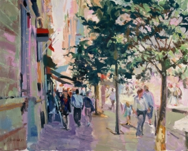 <h5>Along the Quai Quimper</h5><p>O:L 21 x 25 1999																																																																																																																							</p>
