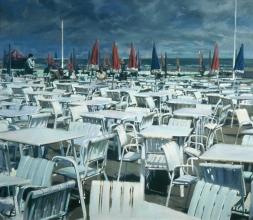 <h5>Deauville Café</h5><p>O:L 60 x 69 1983</p>