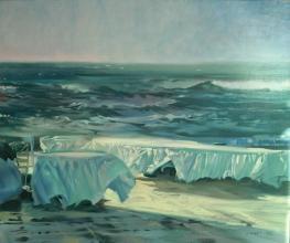 <h5>Sirens Cove</h5><p>O:L 60 x 69 1983</p>