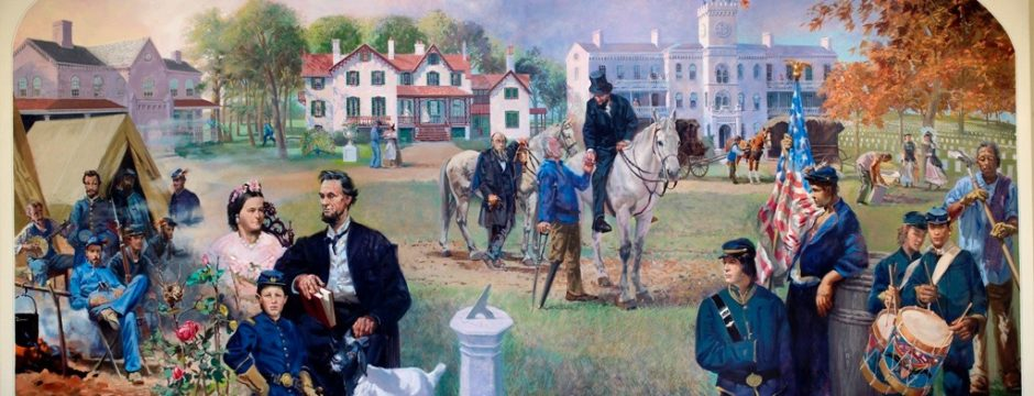 William Woodward A View of the Soldiers Home in Lincoln's Time
